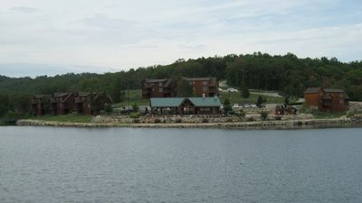 View of the Pavillion from across Fox Hollow lake!