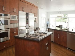 Chicago house photo - Kitchen with 3 Subzeros, Viking Stove and Icemaker