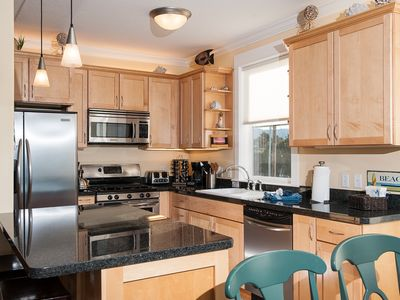 Lincoln City condo rental - Fully Equipped Kitchen