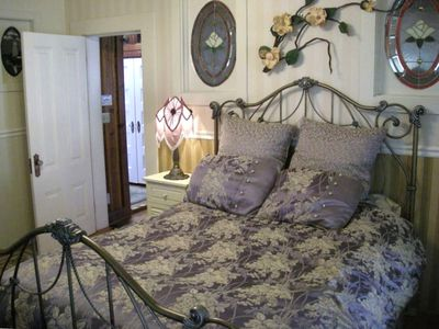 Upstairs Master Queen bed #1