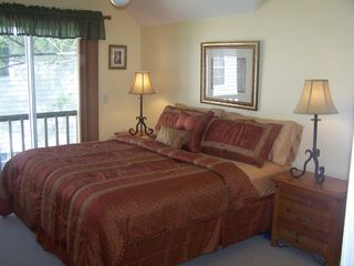 Upstairs master w/private bath has King size bed. - Fort Myers Beach house vacation rental photo