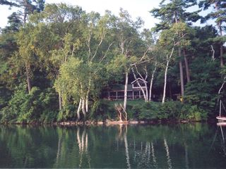 Lakeville cottage photo - House from the Lake