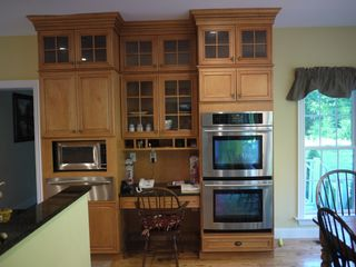 Alford chateau / country house photo - Kitchen has four ovens: micro, warming and Jenn-Air double ovens