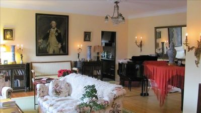 'Grand' Salon with 'Grand' Piano