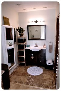 Dana Point condo rental - Master Bath