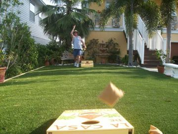 """Any one for a game of Bean Bag Toss?"""