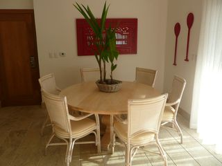 Las Terrenas condo photo - Dining area with A/C