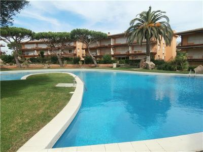 Apartment for 4 people, with pool, in Calella de Palafrugell