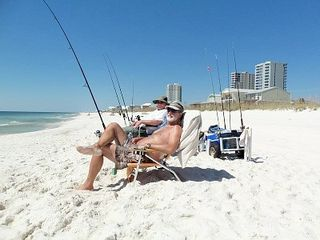 Gulf Shores condo photo - Enjoying life on the beach - great fishing