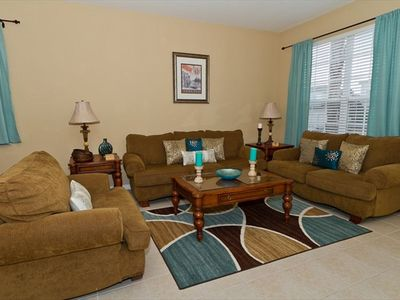 Welcome home to a cozy and comfortable living room!