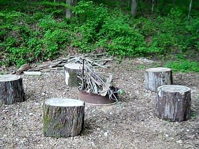 French Lick cabin rental - Camp Fire Pit