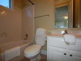 Fort Morgan property rental photo - The Queen Master Suite has its own full private bath and small walk-in closet.