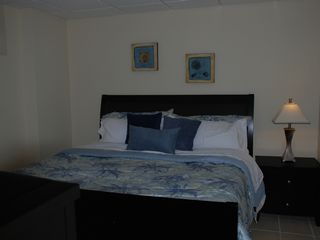 South Padre Island condo photo - King Master Bedroom with Flat Screen TV