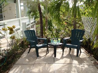 Culebra house photo - Enjoy an afternoon cocktail in the garden