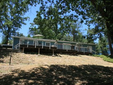 Sequoia Park house rental - View from lake-side of property
