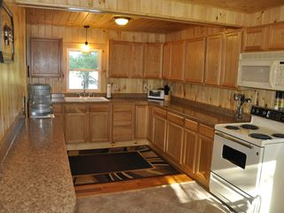 Edwards cabin photo - Brand New Kitchen with All the Amenities and View of the Lake.