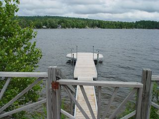 Eastbrook cottage photo - Just steps away to incredible swimming , fishing and boating on a 3 mile pond