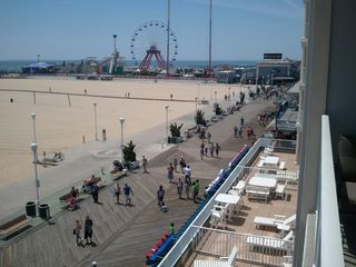 Belmont Towers Ocean City condo photo - View of OC Boardwalk Looking South to the Amusement Pier