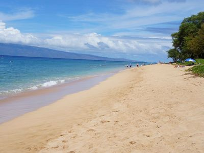 The beautiful Airport Beach is perfect for snorkeling, sunbathing, and relaxing.