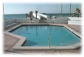 LARGE POOL ON POOL DECK - SKYBRIDGE TO BEACH