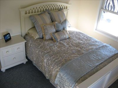 Queen size bed in Master bedroom