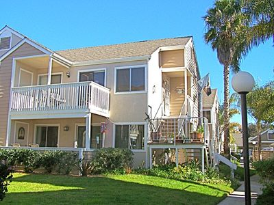Dana Point condo rental - View of the Lighthouse from the Ocean