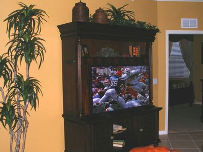 Family Room Television 42' LCD HD