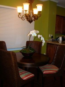 Duck Key villa rental - Dining room with seating for four