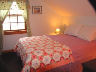 Mashpee house photo - Upstairs bedroom with Double bed. THERE IS ALSO A TWIN BED IN HERE*