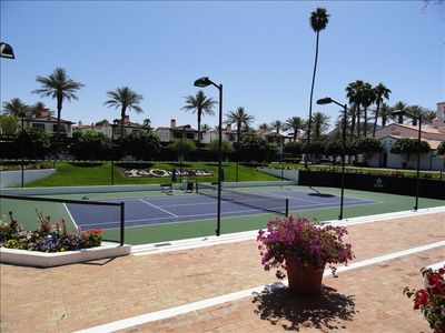 NUMEROUS TENNIS COURTS FOR YOUR ENJOYMENT...