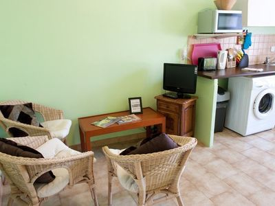 St-Saturnin-les-Avignon apartment rental - seating area in Le 111 (1)
