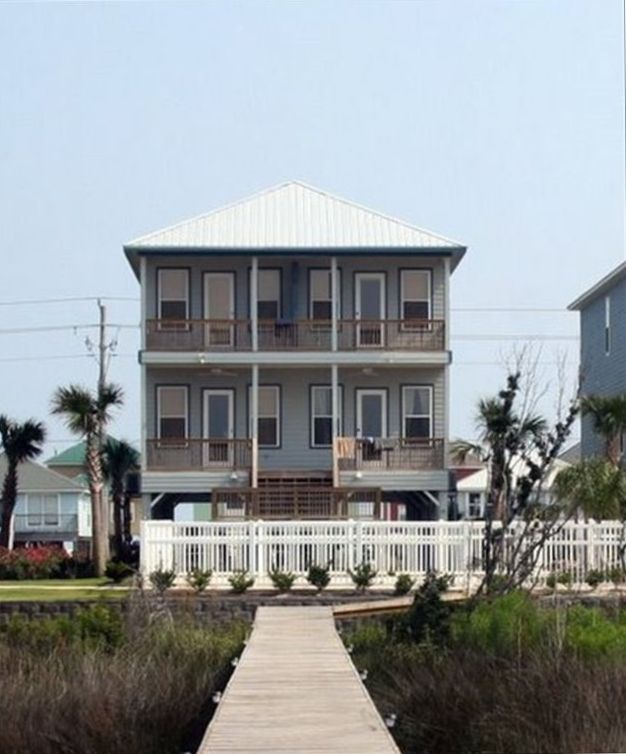 Gulf Shores Beach House Rentals By Owner: BIG SEABREEZE! Home Close To The Beach With 2...