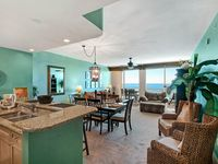 1705 Aqua 2 BR, 2 BA, 2 Bunk,  AMAZING GULF FRONT view with Beach Service
