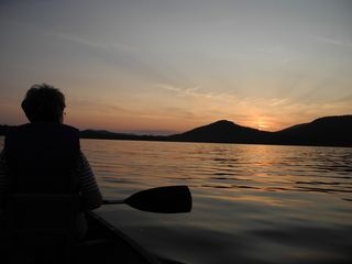 Piseco Lake lodge photo - Spectacular Sunsets!