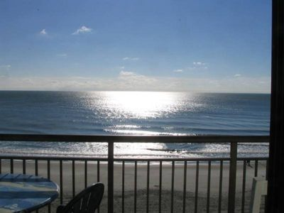 Blue Water Resort condo rental - View From Oceanfront Balcony More Photos At http://BLUEWATER502.COM