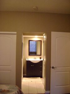 Private three piece Adjoining Bathroom