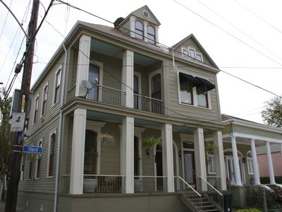 Large And Gracious New Orleans 3 Bedroom Homeaway Faubourg Livaudais
