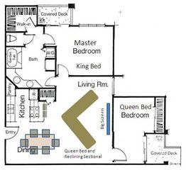 St. George condo photo - Floor Plan