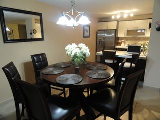 Aguadilla condo photo - Comfortable dining room for six and kitchen