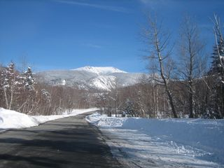 Franconia chalet photo - View Mt Lafayette from my street.