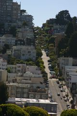 "San Francisco apartment photo - View from kitchen & living room up the hill to the ""Crookest Street""-4 blks away"