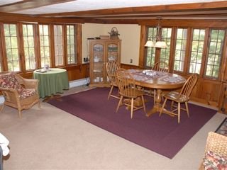 North Conway cottage photo - Dining room (Open into Living room)