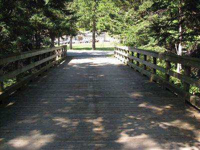 Wooden Bridge to Ross St.