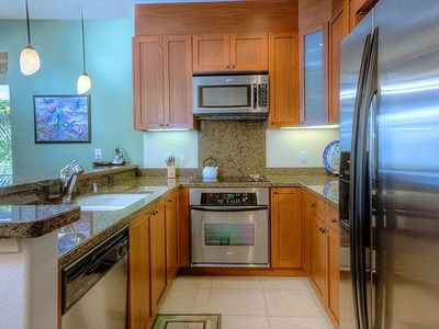 Enjoy all the luxury of home with this well equipped kitchen