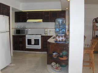 Fully equipped kitchen includes a blender for Margueritas, etc. - Bucerias townhome vacation rental photo