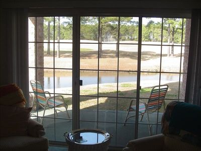 View of Myrtle wood golf course form Master bedroom and living room
