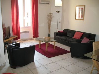 Apartment in fashionable Nice pedestrian zone by Chanel,close to beach and shops