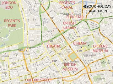 Map of local amenities