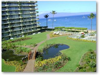 Lahaina condo photo - Courtyard