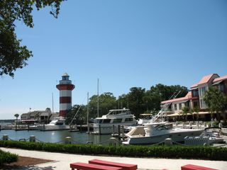 Sea Pines condo photo - It is an easy walk to Harbourtown